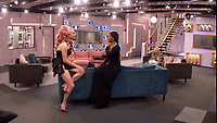 Andrew Brady, Malika Haqq<br /> Celebrity Big Brother 2018 - Day 8<br /> *Editorial Use Only*<br /> CAP/KFS<br /> Image supplied by Capital Pictures