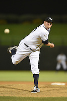 Peoria Javelinas pitcher Matt Lollis (33) during an Arizona Fall League game against the Glendale Desert Dogs on October 14, 2014 at Surprise Stadium in Surprise, Arizona.  Glendale defeated Peoria 9-0.  (Mike Janes/Four Seam Images)