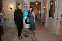 Jenni Kayne, Kerrilynn Pamer and Cindy DiPrima attend the CAP Beauty + Jenni Kayne Dinner on Nov. 5, 2015 (Photo by Inae Bloom/Guest of a Guest)
