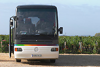 Bus. Chateau la Grace Dieu les Menuts, Saint Emilion, Bordeaux, France