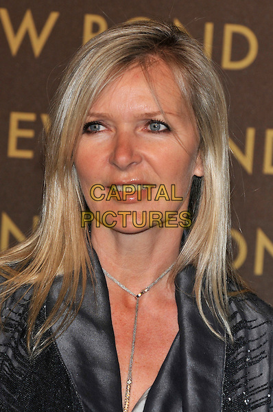 AMANDA WAKELEY .attends the launch of the Louis Vuitton Bond Street Maison Store in London, England, UK, May 25th, 2010. .portrait headshot grey gray silver necklace .CAP/PL.©Phil Loftus/Capital Pictures.