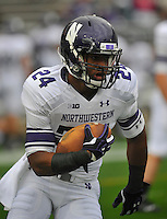 06 October 2012:  Northwestern S Ibraheim Campbell (24). The Penn State Nittany Lions defeated the Northwestern Wildcats 39-28 at Beaver Stadium in State College, PA.