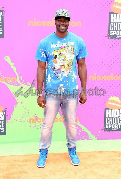 13 July 2017 - Los Angeles, California - Sheldon Bailey. Nickelodeon Kids' Choice Sports Awards 2017 held at Pauley Pavilion. Photo Credit: F. Sadou/AdMedia