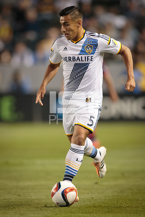 Carson, Calif. - Friday, March 6, 2015: The LA Galaxy defeated the Chicago Fire 2-0 in a Major League Soccer (MLS) game at StubHub Center.