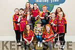 Scor ns bPaisti Chiarrai Thuaidh: Taking part in the Scor ns bPaisti Chiarrai Thuaidh held in the Marian Hall, Moyvane on Sunday last were the Duagh club members of Teghan Welch, hayley McElligott, caoimhe Stack, mary Kate Moloney, Caoimhe Hrte, Sadie O'Connor, Jack O'Carroll, Eimear Buckley, Erin Welch & Amie Sheehy.
