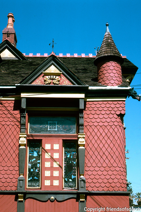 San Diego: Villa Montezuma detail. NHRP 1971. (Photo '82)