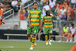 14 May 2010: Tampa Bay's Jeremy Christie (NZL) plays his final game before reporting to New Zealand for World Cup duty. The FC Tampa Bay Rowdies defeated the Carolina RailHawks 2-1 at WakeMed Stadium in Cary, North Carolina in a regular season U.S. Soccer Division-2 soccer game.