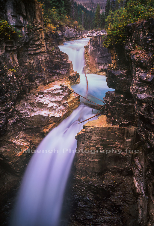 Emperor Falls,Robson Provincial Park,Canada BC