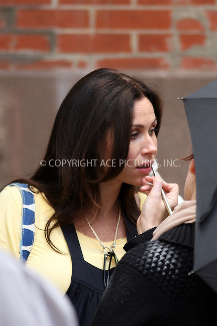 WWW.ACEPIXS.COM ** ** ** ....May 21 2008, New York City....Seven months pregnant actress Minnie Driver was on the West Village set of the new movie 'Motherhood' with Uma Thurman.....Please byline: Philip Vaughan -- ACEPIXS.COM.. *** ***  ..Ace Pictures, Inc:  ..tel: (646) 769 0430..e-mail: info@acepixs.com..web: http://www.acepixs.com