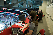March 09, 2009. Raleigh, NC.. The Carolina Hurricanes beat the New York Rangers 3-0 at the RBC Center in Raleigh.. Triangle Offense blogger, Kate Shefte.