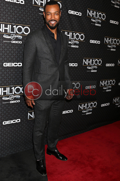 Isaiah Mustafa<br /> at the The NHL100 Gala, Microsoft Theater, Los Angeles, CA 01-27-17<br /> David Edwards/DailyCeleb.com 818-249-4998