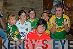5/1 I'll bet well do it again next year!  Mary Garvey seated front feels the pressure from the Kerry support back l-r; Jemma Moran, Margaret Griffin, Aoife Garvey(Mary's daughter), James Walsh & Michael Golden in Mike  Murts bar, caherciveen