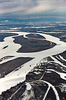 Athabascan native village of Stevens, Alaska, located along the Yukon River in Interior, Alaska.