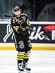 Stockholm 2014-01-18 Ishockey SHL AIK - F&auml;rjestads BK :  <br /> AIK:s Mark Hurtubise deppar<br /> (Foto: Kenta J&ouml;nsson) Nyckelord:  depp besviken besvikelse sorg ledsen deppig nedst&auml;md uppgiven sad disappointment disappointed dejected portr&auml;tt portrait