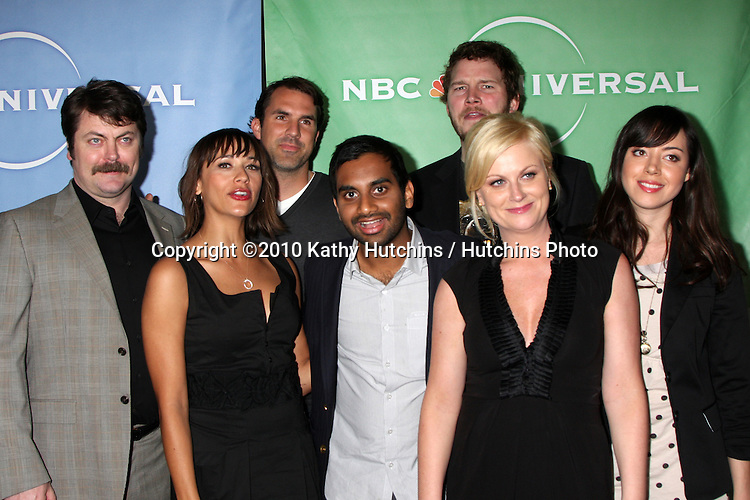 Amy Poehler, Parks & Recreation Cast.arriving at the 2010 Winter NBC TCA Party .Langford Hotel.Pasadena, CA.January 10, 2010.©2010 Kathy Hutchins / Hutchins Photo....