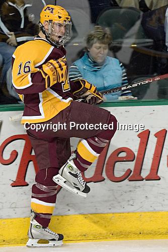 Ryan Potulny - The University of Minnesota Golden Gophers defeated the University of North Dakota Fighting Sioux 4-3 on Friday, December 9, 2005, at Ralph Engelstad Arena in Grand Forks, North Dakota.