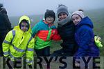 Ronan, Clíodhna, Grainne and Louise Kavanagh after an Aifreann Bhreacadh an Lae at Teampall Geal, Baile Riabhach.