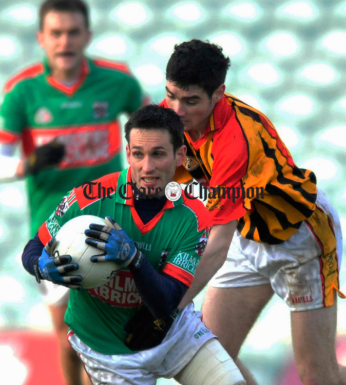Kilmurry's Michael O' Dwyer in action. Photograph by Declan Monaghan