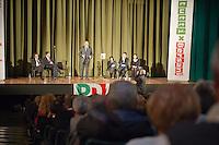 PESCARA (PE) 07/11/2012: PRIMARIE PD 2012 - PIERLUIGI BERSANI A PESCARA.  FOTO ADAMO DI LORETO