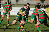 K. Farrell . Counties Manukau Premier Club Rugby, Pukekohe v Waiuku  played at the Colin Lawrie field, on the 3rd of 2006.Pukekohe won 36 - 14