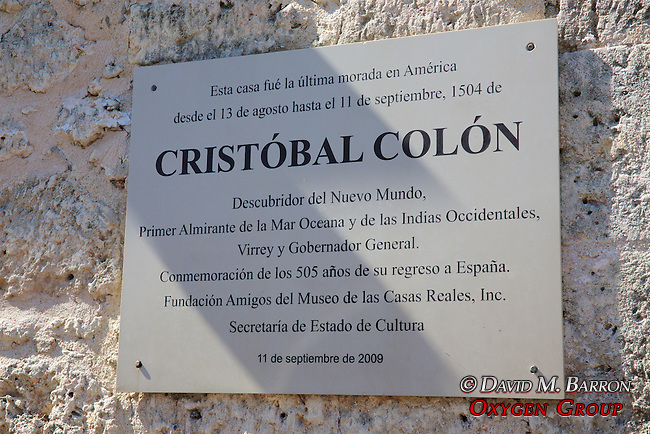 Christopher Columbus Sign