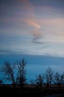 sky with artful cloud