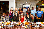 Nicola Boycsuk from Tralee celebrating her birthday with friends in the Station House in Blennerville on Saturday night.<br /> Seated l-r, Bruce Falade, Miranda Xhemaili, Nicola Boycsuk, Iasmin and Jasmine Gheorghe.<br /> Back l-r, Emily O&rsquo;Callaghan, Bledona Ashani, Mandi Christine, Mark and Larisa Vichente, Bosun and Basit Falade.