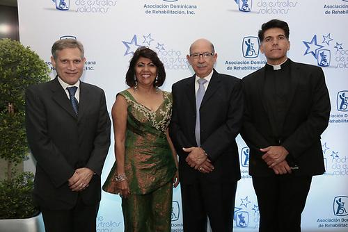 José Suárez, Lilin de Suárez,  Eduardo Castro e Israel Craviotto.