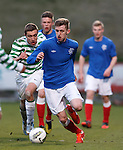 Dylan Dykes on the attack for Rangers