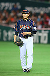 Toshiya Sugiuchi (JPN), .MARCH 2, 2013 - WBC : .2013 World Baseball Classic .1st Round Pool A .between Japan 5-3 Brazil .at Yafuoku Dome, Fukuoka, Japan. .(Photo by YUTAKA/AFLO SPORT)
