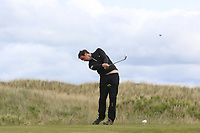 Colin Woodroofe (Dun Laoghaire) on the 5th tee during Round 4 of the East of Ireland Amateur Open Championship at Co. Louth Golf Club in Baltray on Monday 5th June 2017.<br /> Photo: Golffile / Thos Caffrey.<br /> <br /> All photo usage must carry mandatory copyright credit     (&copy; Golffile | Thos Caffrey)