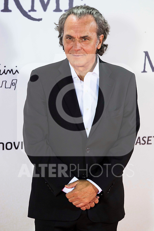 "Jose Coronado during the premiere of the spanish film ""Un Monstruo Viene a Verme"" of J.A. Bayona at Teatro Real in Madrid. September 26, 2016. (ALTERPHOTOS/Borja B.Hojas)"