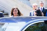 Queen Letizia of Spain visits Biblioteca Nacional. July 30, 2019. (ALTERPHOTOS/Francis González)