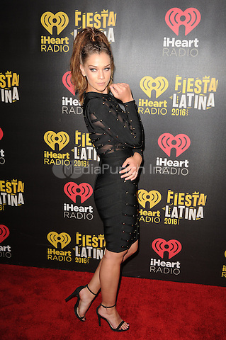 MIAMI, FL - NOVEMBER 5: Carolina Miranda at iHeartRadio Fiesta Latina 2016 at The American Airlines Arena on November 5, 2016. Credit: mpi04/MediaPunch