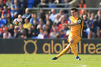 Shane Duffy of Brighton & Hove Albion during Crystal Palace vs Brighton & Hove Albion, Premier League Football at Selhurst Park on 14th April 2018