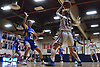 Kaitlin O'Sullivan #15 of South Side looks to pass during a non-league girls basketball game against East Meadow at South Side High School in Rockville Centre on Tuesday, Nov. 27, 2018. South Side won by a score of 68-29.