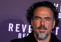 Il regista messicano Alejandro Gonzalez Inarritu posa durante un photocall in occasione della premiere del suo film 'Revenant - Redivivo' a Roma, 15 gennaio 2016.<br /> Mexican director Alejandro Gonzalez Inarritu poses during a photo call on the occasion of the premiere of his movie 'The Revenant' in Rome, 15 January 2016.<br /> UPDATE IMAGES PRESS/Isabella Bonotto