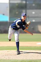 Jake Odorizzi, Milwaukee Brewers 2010 minor league spring training..Photo by:  Bill Mitchell/Four Seam Images.