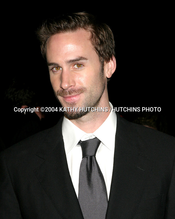 ©2004 KATHY HUTCHINS /HUTCHINS PHOTO.MOVIE PREMIERE -  FINDING NEVERLAND.BEVERLY HILLS, CA.NOVEMBER 11, 2004..JOSEPH FINNES.