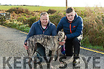 At Ballyduff Coursing on Sunday were Jack McAuliffe, Neil Nolan with In China Again from Brosna