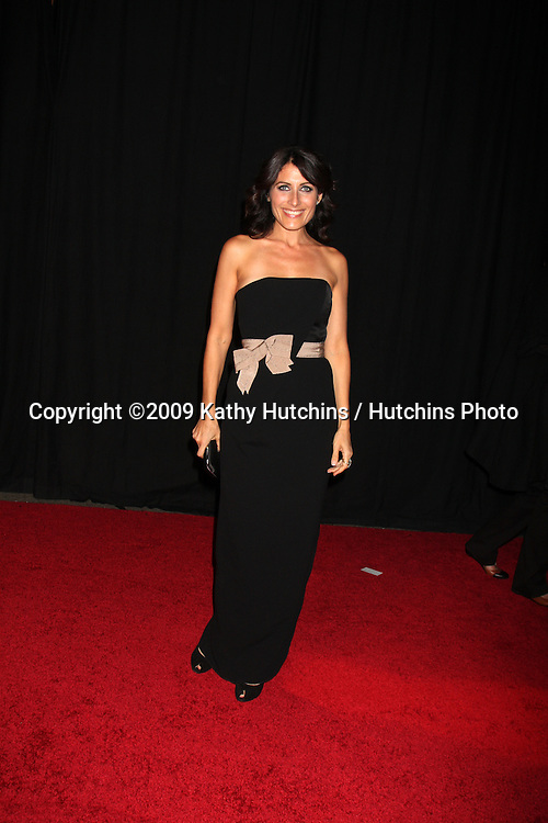 Lisa Edelstein.Rodeo Drive Walk of Style Awards 2009 honoring Princess Grace of Monaco & Cartier.Rodeo Drive.Beverly Hills,  CA.October 22, 2009.©2009 Kathy Hutchins / Hutchins Photo.