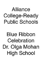 Alliance Blue Ribbon Dr. Olga Mohan H.S.