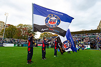 A general view of the Bath Rugby guard of honour. Heineken Champions Cup match, between Bath Rugby and Stade Toulousain on October 13, 2018 at the Recreation Ground in Bath, England. Photo by: Patrick Khachfe / Onside Images