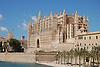 Almudaina Palace and Cathedral Santa Mar&iacute;a de Palma de Mallorca (1229-1346) with the lagoon Parc de la Mar<br /> <br /> Palacio de Almudaina y Catedral de Santa Mar&iacute;a de Palma de Mallorca (La Seu, cat.: Sa Seo) (1229-1346) con el Parc de la Mar<br /> <br /> Almudaina-Palast und Kathedrale Santa Mar&iacute;a de Palma de Mallorca (1229-1346) mit dem Meerespark<br /> <br /> 3008 x 2000 px<br /> 150 dpi: 50,94 x 33,87 cm<br /> 300 dpi: 25,47 x 16,93 cm