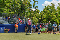 Sean O'Hair (USA) watches his tee shot on 10 during Round 2 of the Zurich Classic of New Orl, TPC Louisiana, Avondale, Louisiana, USA. 4/27/2018.<br /> Picture: Golffile | Ken Murray<br /> <br /> <br /> All photo usage must carry mandatory copyright credit (&copy; Golffile | Ken Murray)
