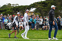 Bubba Watson (USA) heads down 9 during round 1 of the 2019 US Open, Pebble Beach Golf Links, Monterrey, California, USA. 6/13/2019.<br /> Picture: Golffile | Ken Murray<br /> <br /> All photo usage must carry mandatory copyright credit (© Golffile | Ken Murray)