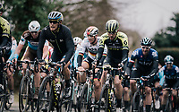 Matteo Trentin (ITA/Mitchelton-Scott) up the Kruisberg <br /> <br /> 71th Kuurne-Brussel-Kuurne 2019 <br /> Kuurne to Kuurne (BEL): 201km<br /> <br /> ©kramon