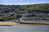 Goodwick and Fishguard Port, Pembrokeshire, Wales, UK