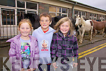 'Horsing Around', at the Cahersiveen Horse & Pony Fair in Cahersiveen on Thursday last were l-r; E?adaoin O'Driscoll, Dennis O'Driscoll & Ella Corcoran.