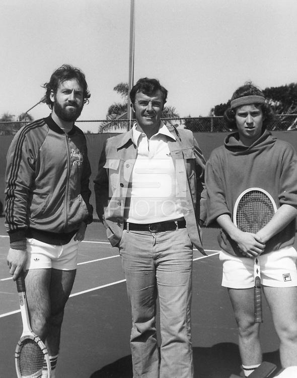 Date Unknown: Bill Maze, Dick Gould, John McEnroe.